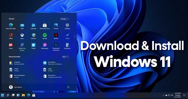 How to Download & Install Windows 11 on PC/Laptop