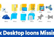 How to Fix Windows 10 Desktop Icons Missing Problem