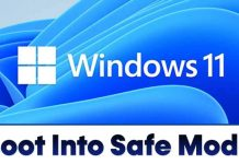 How to Boot Windows 11 Into Safe Mode