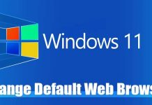 How to Change the Default Web Browser in Windows 11