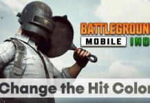 How to Change the Hit/Damage Effect Color in BGMI