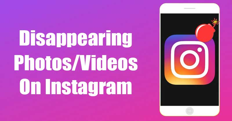 How to Send Disappearing Photo and Video on Instagram