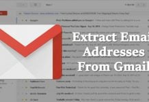 How to Extract Email Addresses from your Gmail Messages