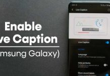 How to Enable Live Caption On Samsung Galaxy Devices