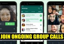 How to Join Ongoing Group Calls On WhatsApp