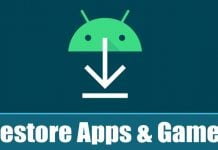 How to Restore Apps & Games to Your Android Device