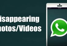 How to Send Disappearing Photos & Videos On WhatsApp