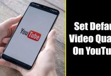 How to Set Default YouTube Video Quality On Android