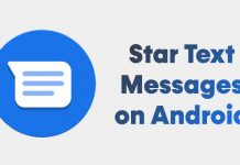 How to Star Important Text Messages on Android Device