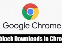 How to Stop Chrome Browser from Blocking Downloads