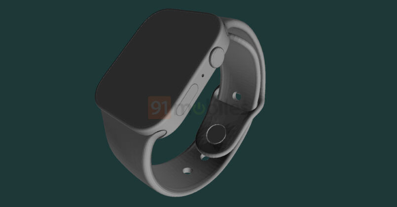 Apple Watch Series 7 design leaked