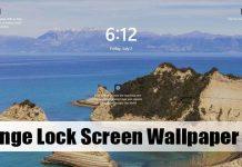 How to Change Windows 11 Lock Screen Wallpaper