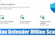 How to Run a Microsoft Defender Offline Scan in Windows 10 & 11