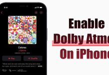 How to Enable Dolby Atmos for Apple Music on iPhone