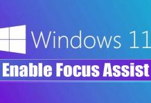 How to Enable & Use Focus Assist On Windows 11
