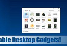 How to Get Desktop Gadgets in Windows 10 & 11