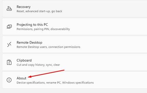 cek spesifikasi laptop windows 11