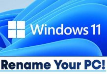 How to Rename Your Windows 11 PC