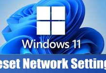 How to Reset Network Settings in Windows 11