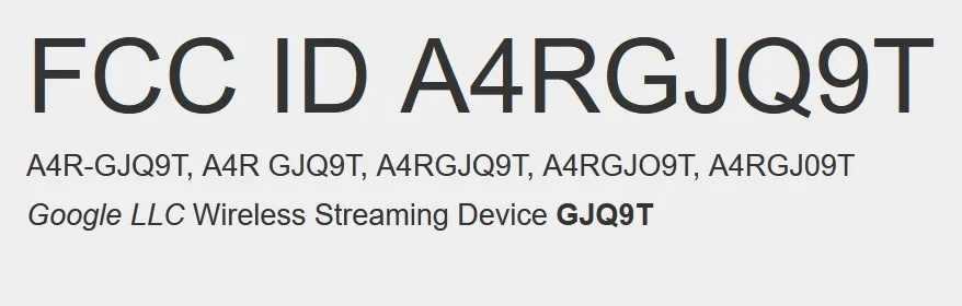 google Wirelss device