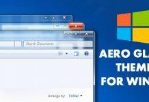 How to Get the Aero Glass Theme On Windows 10
