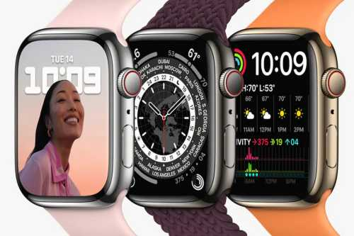 Apple Watch Series 7 launched