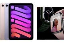 Apple Watch sereis 7 & iPad Mini launched