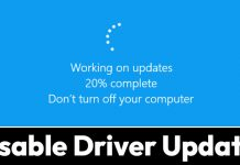 How to Turn Off Automatic Driver Updates On Windows 10