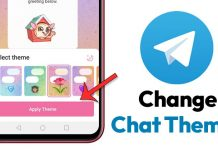 How to Change Themes for Individual Chats On Telegram