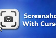 How to Capture Screenshot With Mouse Cursor On Windows 10