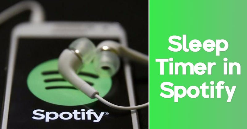 How to Set up a Sleep Timer in Spotify App