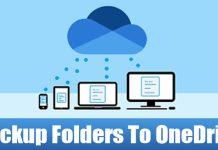 How to Backup Windows Folders to OneDrive Automatically
