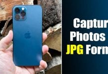 How to Capture/Save Photos in JPG Format on iPhone