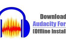 Download Audacity Latest Version Offline Installer for PC