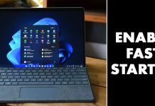 How to Enable Fast Startup On Windows 11