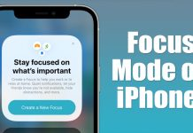 How to Enable & Use Focus on iPhone & iPad