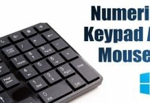 How to Use Numeric Keypad as Mouse on Windows 10/11