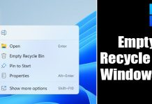 How to Automatically Empty the Recycle Bin On Windows 11