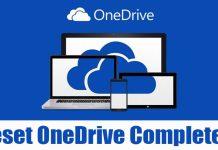How to Reset Microsoft OneDrive on Windows 10