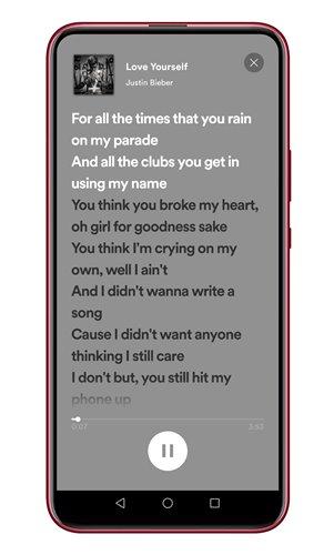 Lyrics again