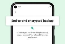 WhatsApp Rolls Out End-to-End Encrypted Backups on Android & iOS