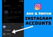How to Add & Switch Between Multiple Accounts on Instagram