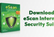 Download eScan Internet Security Suite Offline Installer For PC